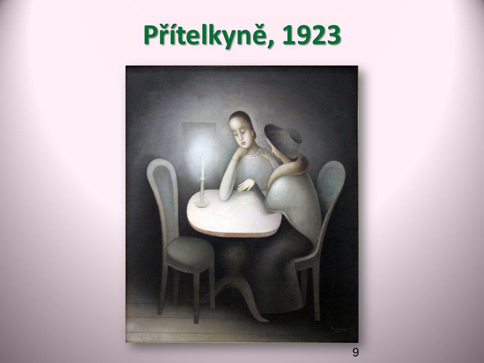 Přítelkyně, 1923 9