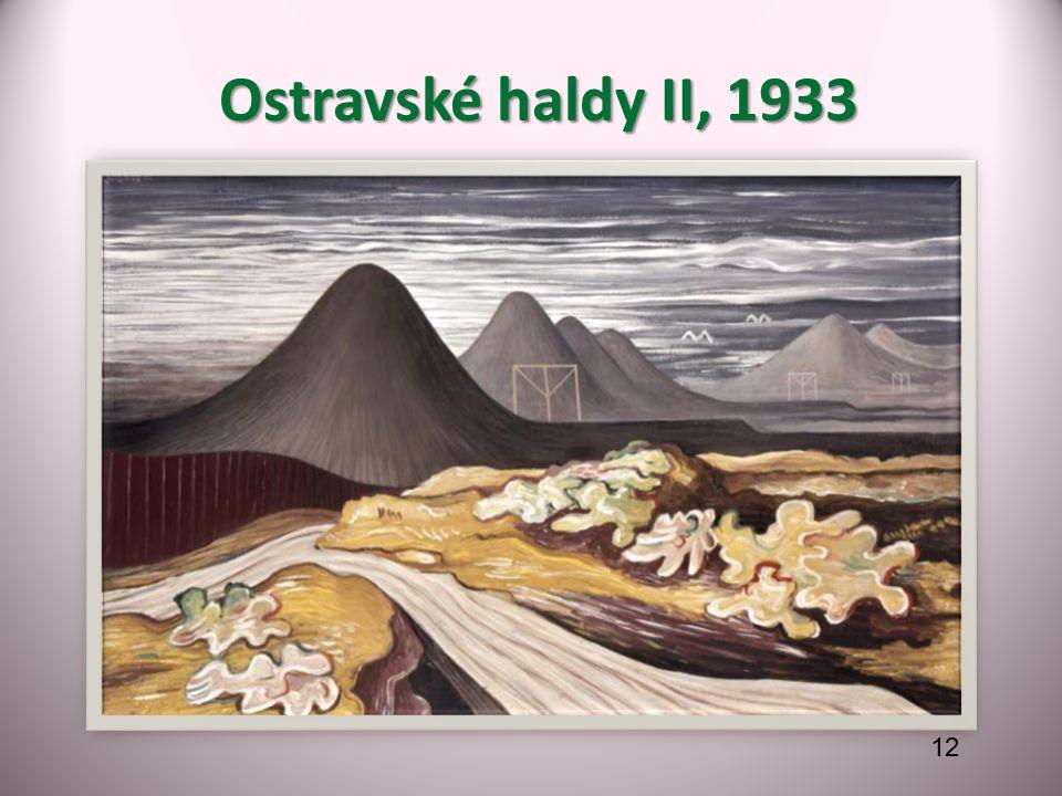Ostravské haldy II, 1933 Ostravské haldy II, 1933 12