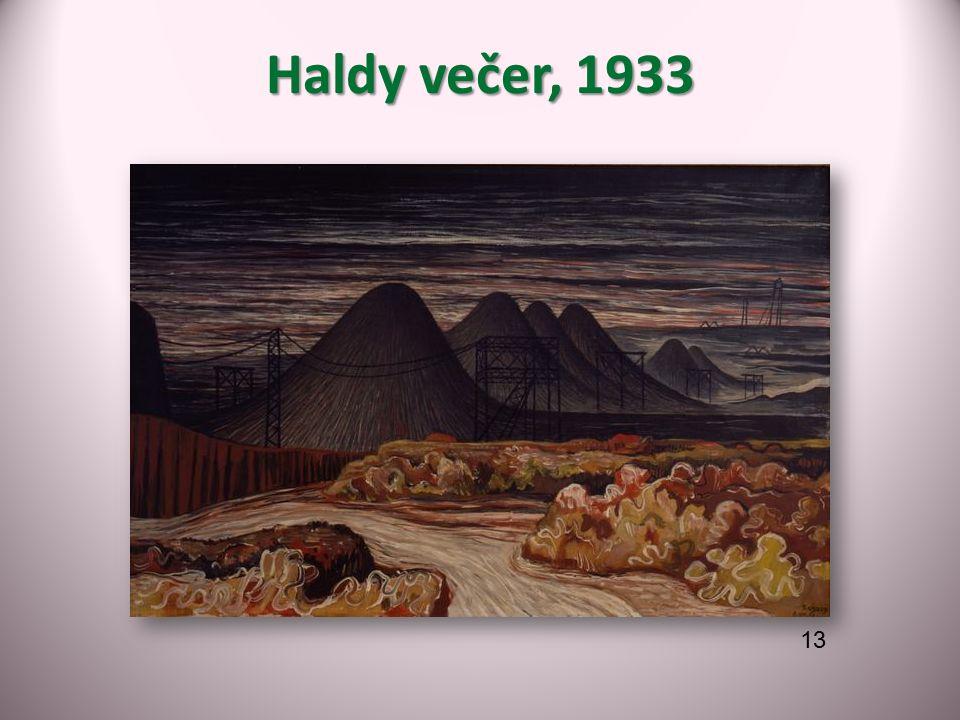 Haldy večer, 1933 13