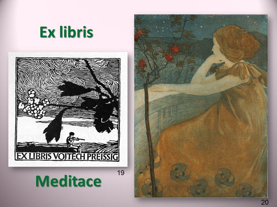 Meditace Ex libris 19 20
