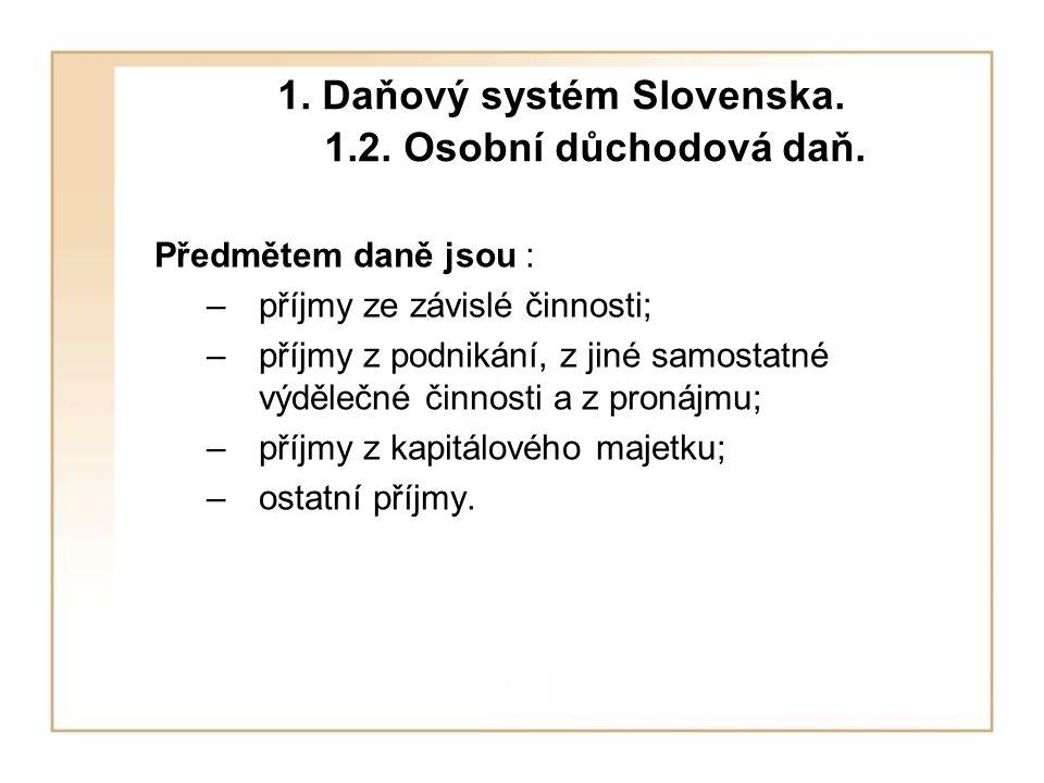 3.Daňový systém Maďarska. 3.6. Daň dědická a darovací Kategorie 2.