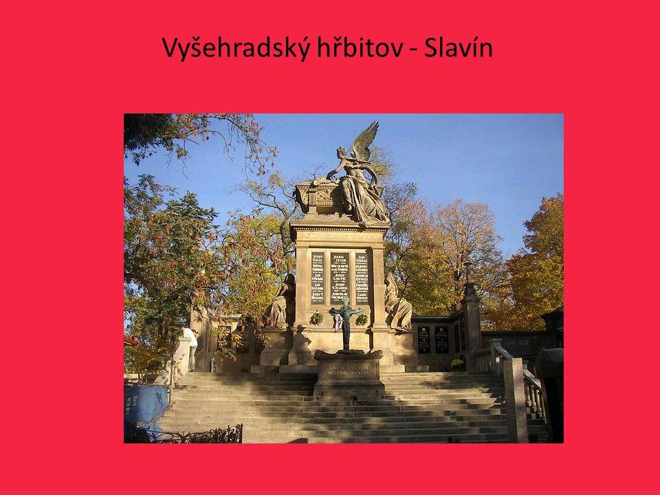 Vyšehradský hřbitov - Slavín