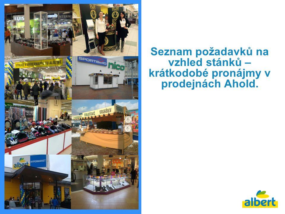 2 Stánky pro vnitřní prostory Pro prodej zboží (textil, dárkové předměty, kosmetika…) jsou povoleny stánky v kombinaci dřevo/sklo, dřevo/hliník, plast.