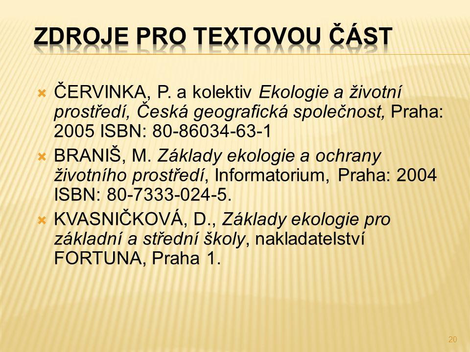  ČERVINKA, P.