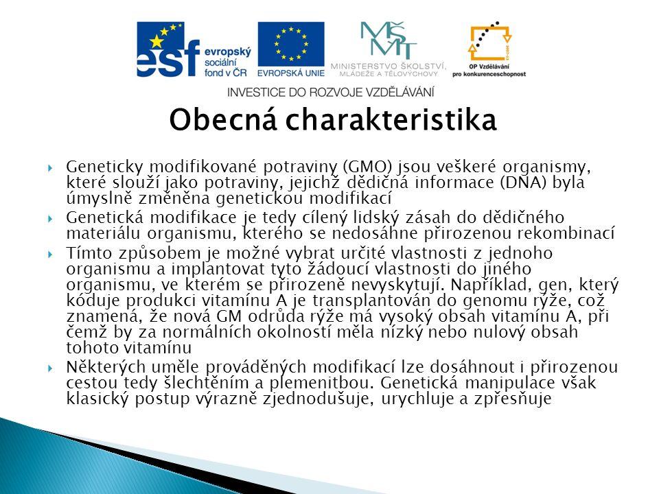 Platná legislativa GMO potravin  Geneticky modifikované potraviny podléhají v Evropské unii i České republice velmi přísnému režimu.