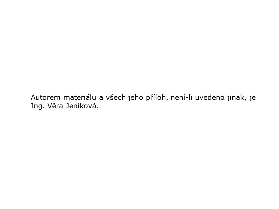 ODPISY DM - DAŇOVÉ Ing. Věra Jeníková