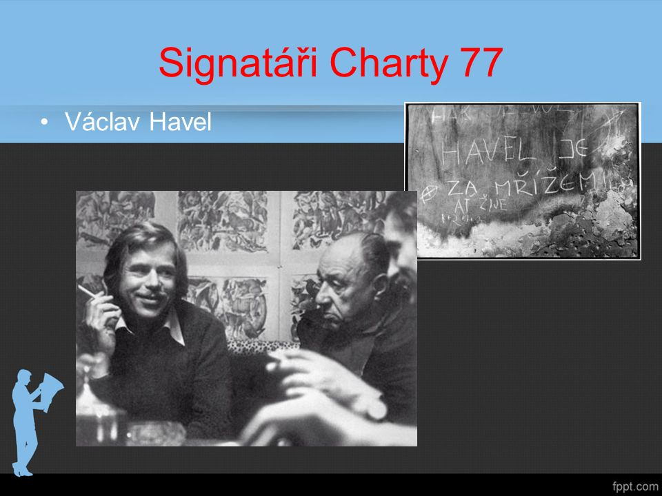 Signatáři Charty 77 Václav Havel