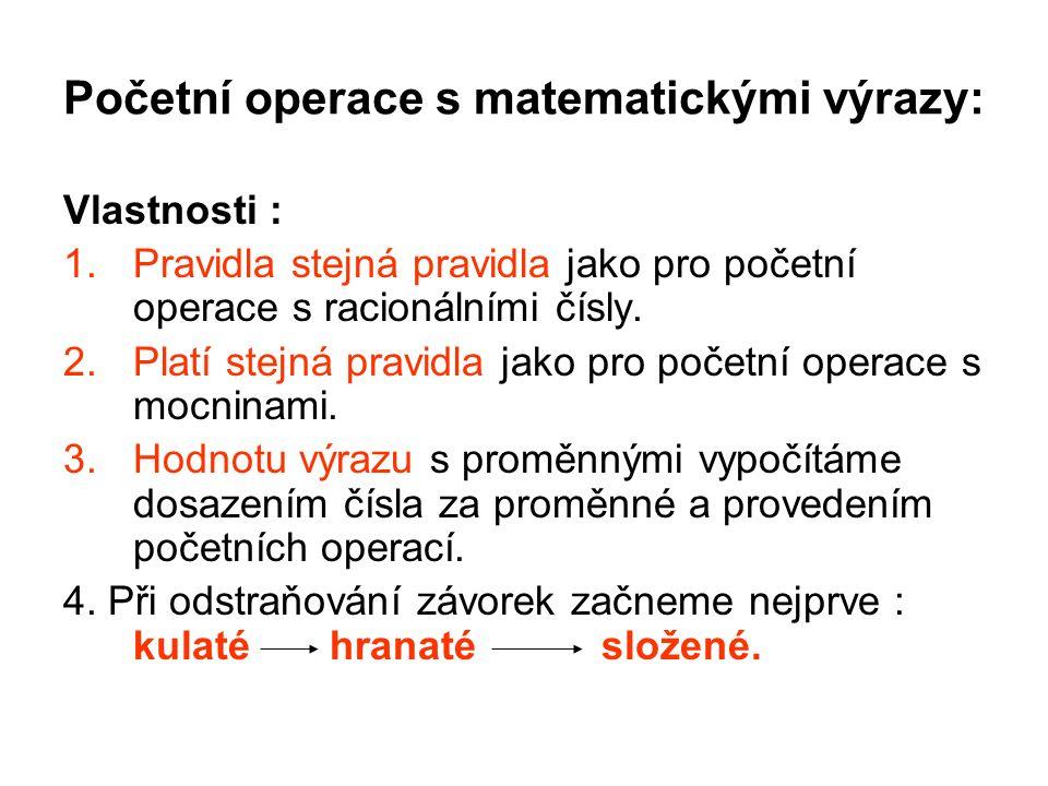 Výrazy v praxi i v životě: 1.Pythagorova věta( výška jehlanu, úhlopříčky ).