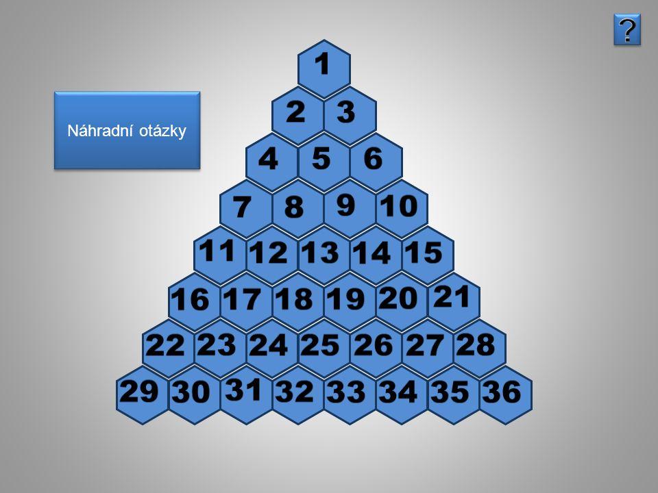 Správná odpověď Pyramida Převeď na určené jednotky 18 cm = dm