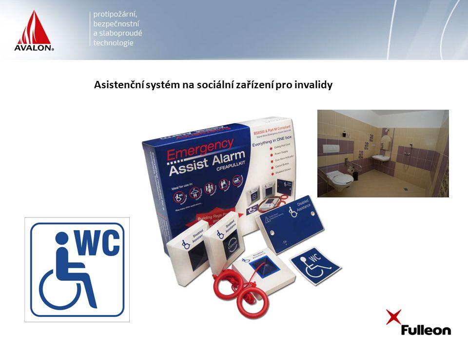Asistenční systém na sociální zařízení pro invalidy