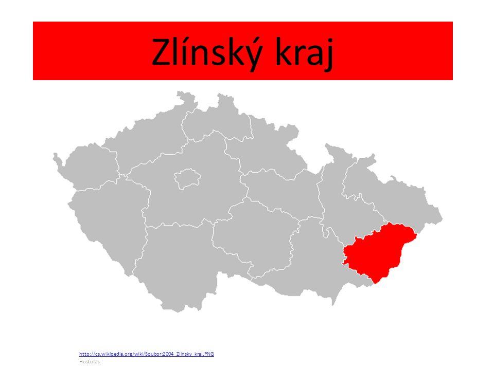 Zlínský kraj http://cs.wikipedia.org/wiki/Soubor:2004_Zlinsky_kraj.PNG Hustoles