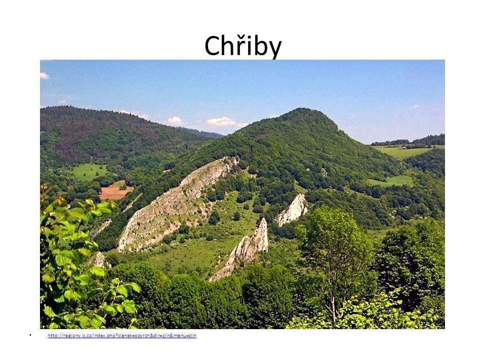 Chřiby http://regiony.ic.cz/index.php clanek=povrch&dir=zlin&menu=zlin