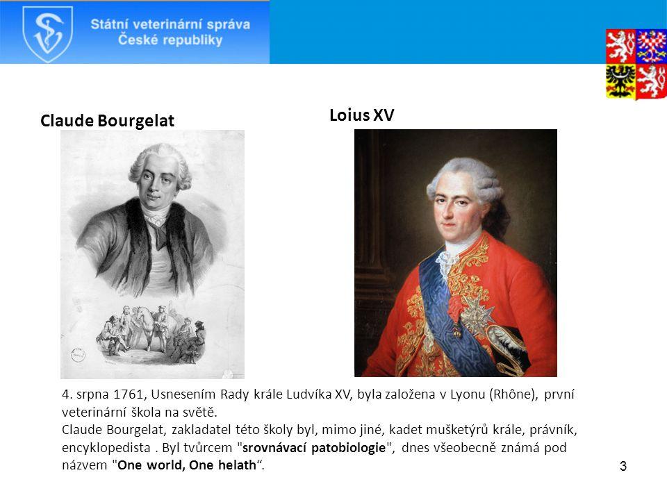 Claude Bourgelat Loius XV 3 4.