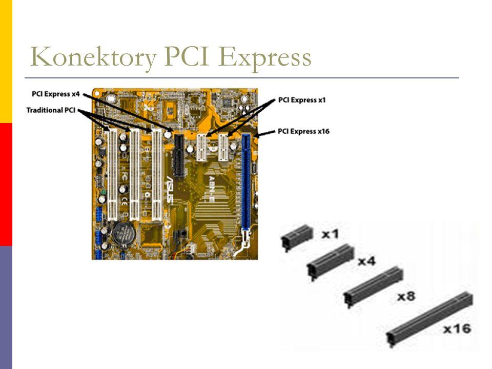 Konektory PCI Express