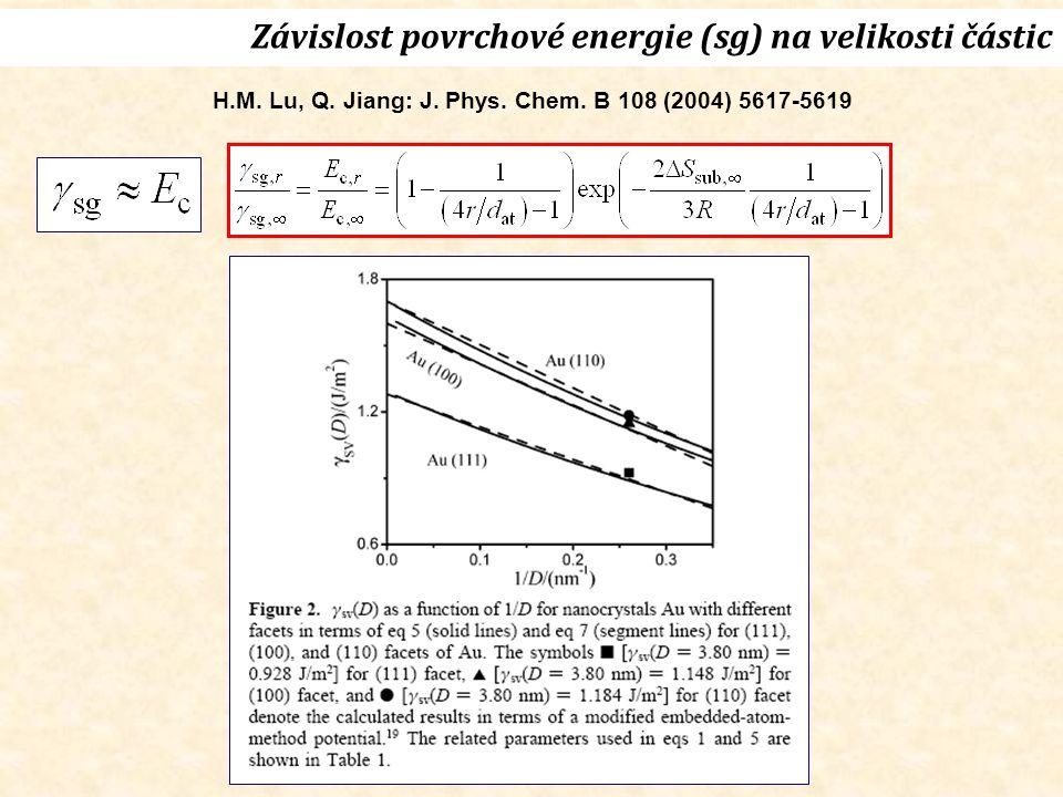 H.M. Lu, Q. Jiang: J. Phys. Chem.