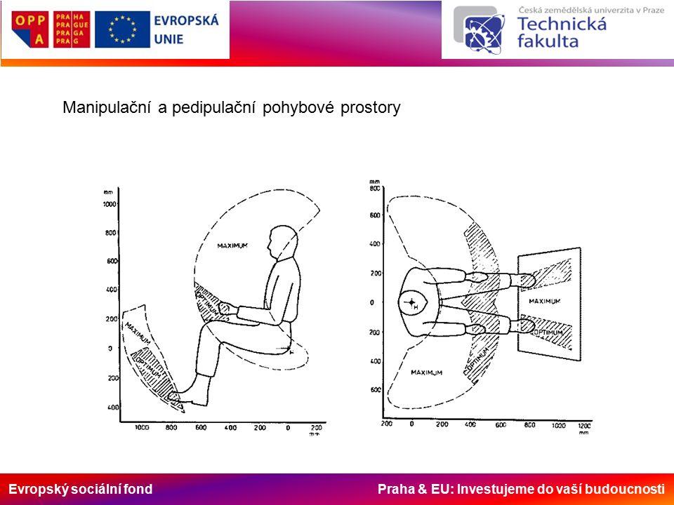 Evropský sociální fond Praha & EU: Investujeme do vaší budoucnosti Manipulační a pedipulační pohybové prostory
