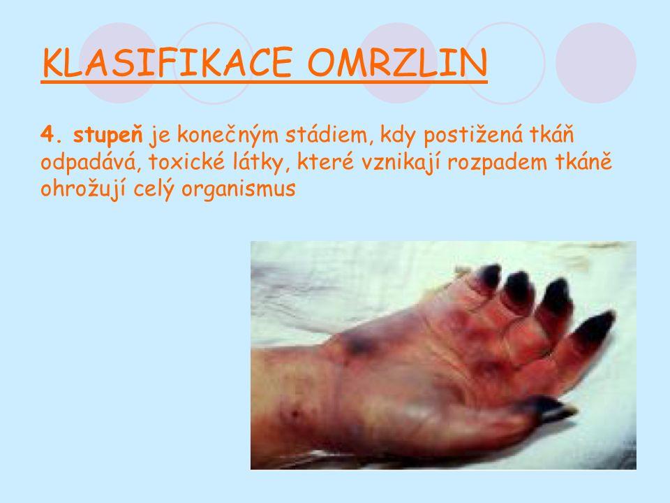 KLASIFIKACE OMRZLIN 4.