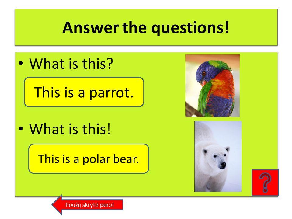 Polar bear polar= polární bear=medvěd polar + bear = ____________ polar= polární bear=medvěd polar + bear = ____________ polar bear Použij skryté pero!
