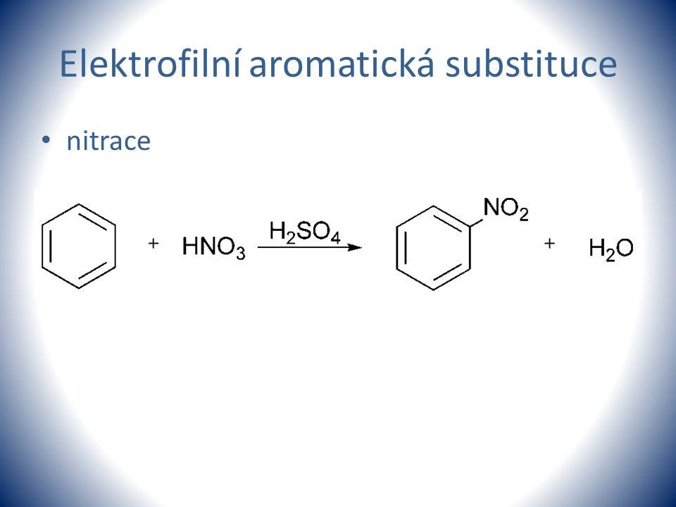 Elektrofilní aromatická substituce nitrace