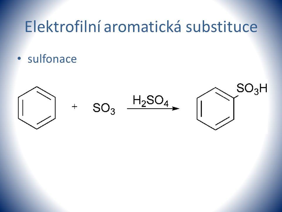 Elektrofilní aromatická substituce sulfonace