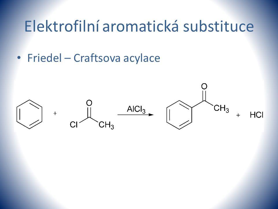 Elektrofilní aromatická substituce Friedel – Craftsova acylace
