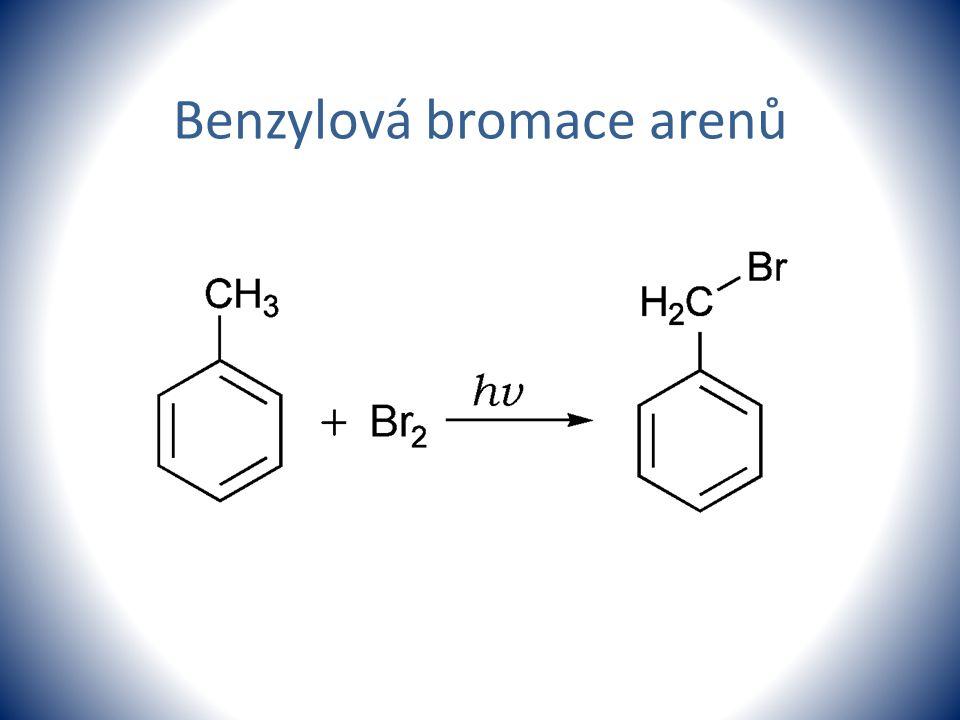 Benzylová bromace arenů