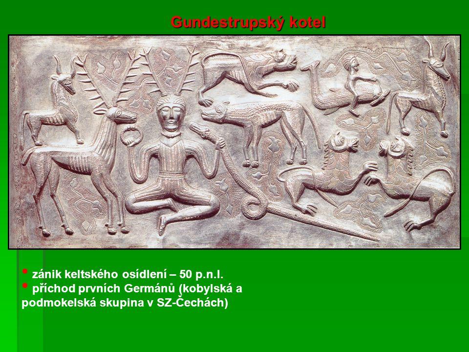 zánik keltského osídlení – 50 p.n.l.
