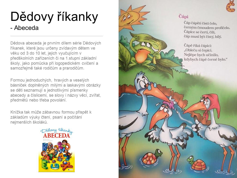Dědovy říkanky - Zvířátka Veselé básničky na doma, do školy i školky.
