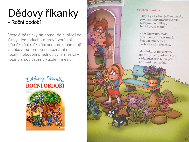 Dědovy říkanky - Jazykolamy Jednoduché a hravé verše si předškoláci a školáci snadno zapamatují.