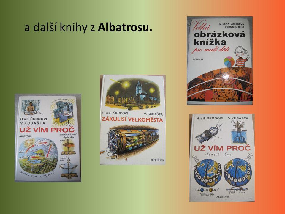 a další knihy z Albatrosu.