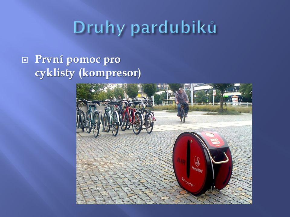  První pomoc pro cyklisty (kompresor)