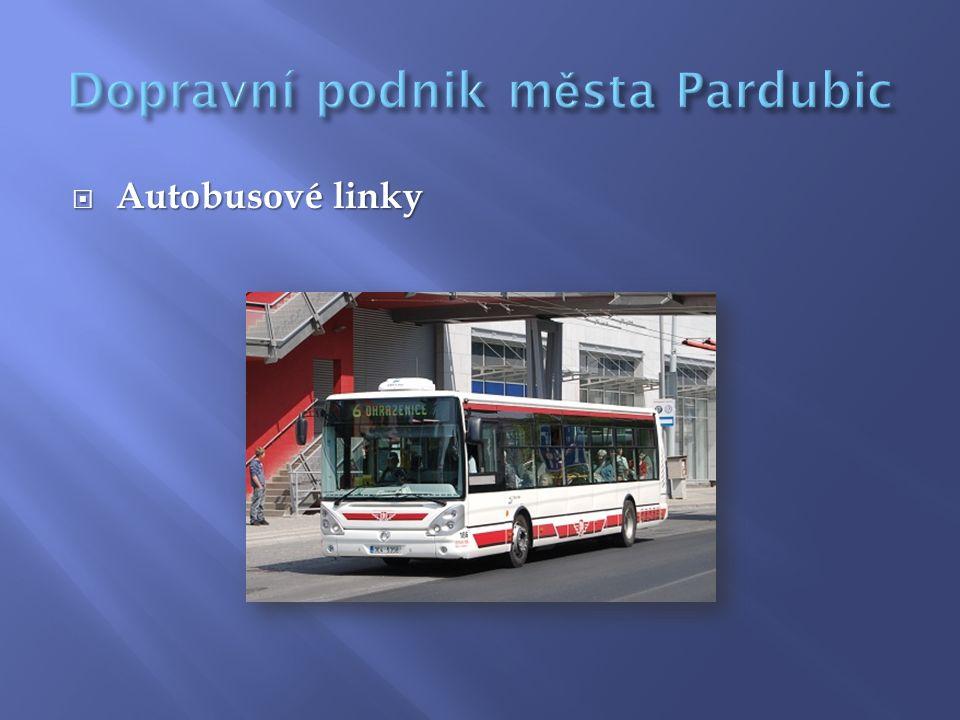  Trolejbusové linky