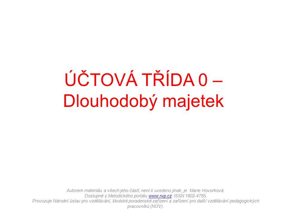 Autorem materiálu a všech jeho částí, není-li uvedeno jinak, je Marie Hovorková. Dostupné z Metodického portálu www.rvp.cz: ISSN 1802-4785. Provozuje