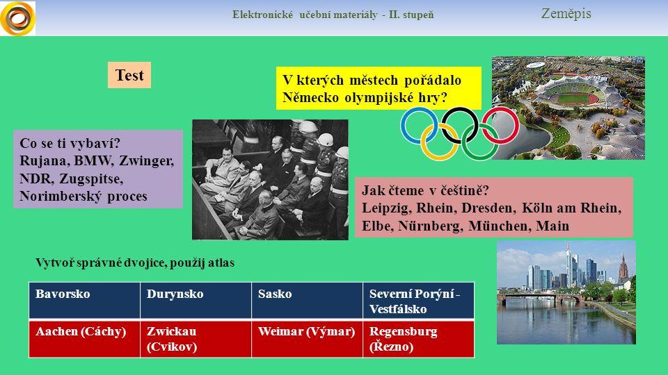 V kterých městech pořádalo Německo olympijské hry.