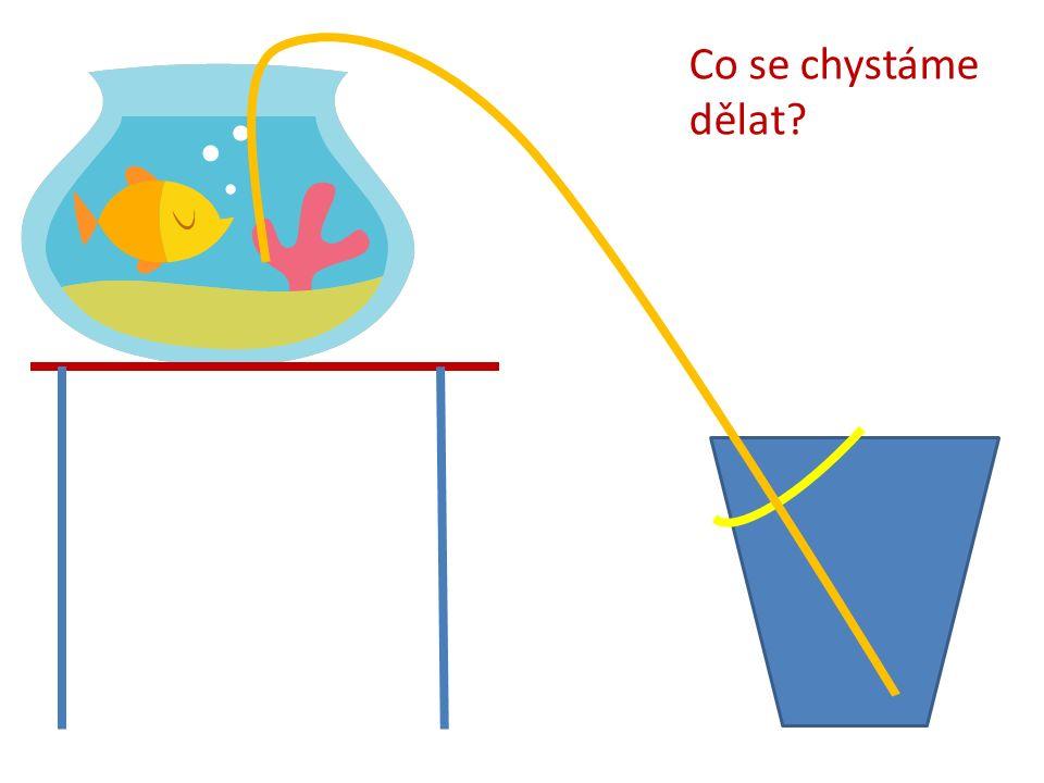 Voda začne vytékat pod tlakem 12 kPa.