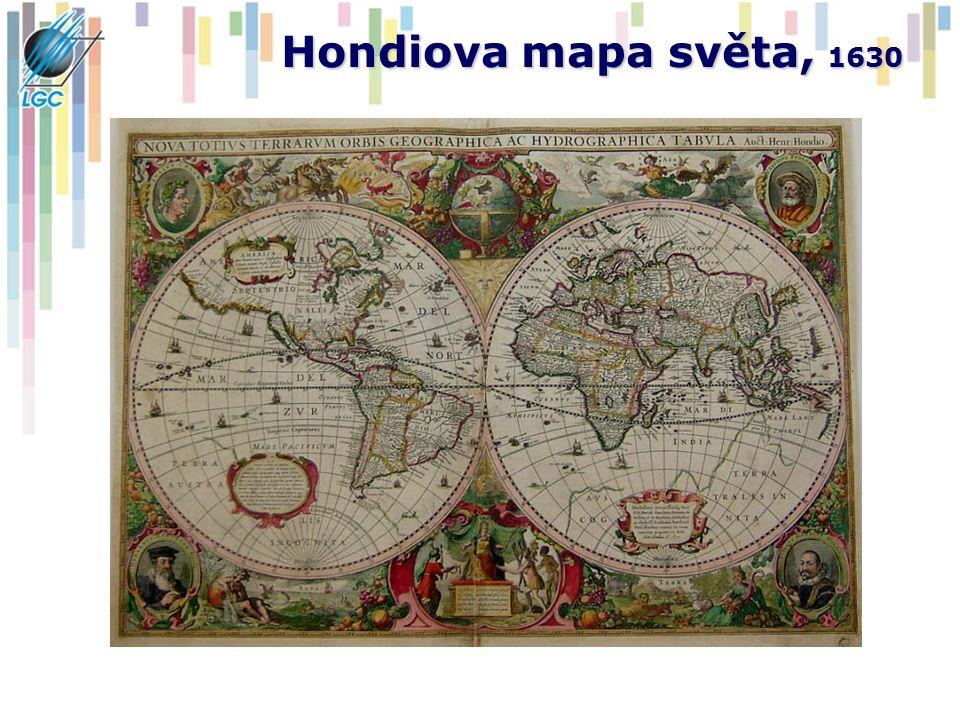 Hondiova mapa světa, 1630