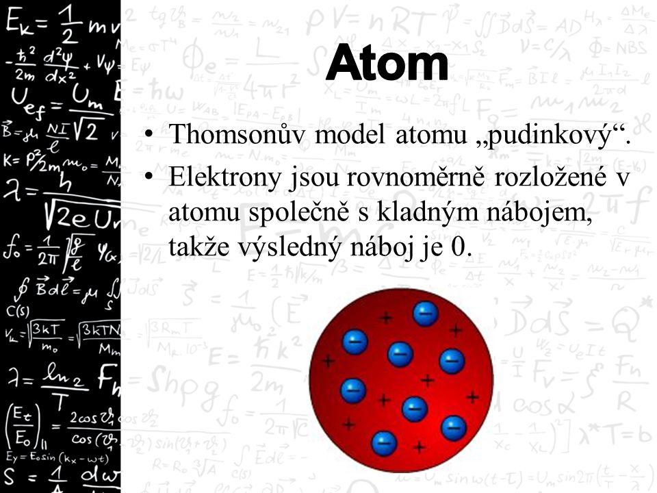 Prvky se mohou slučovat do molekul  Důvodem je minimalizace potenciální energie mezi atomy.
