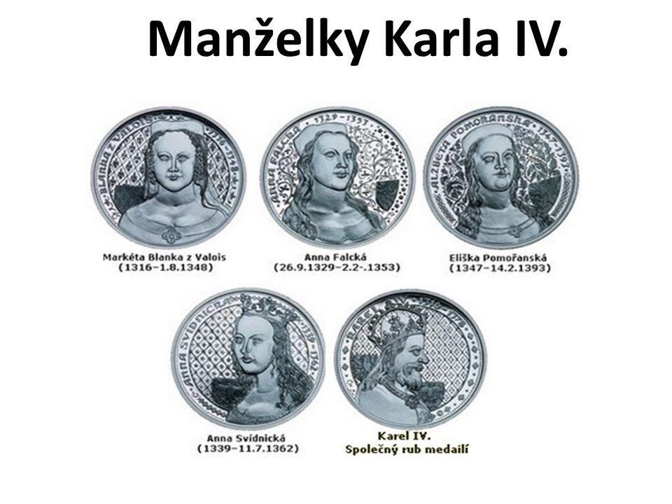Manželky Karla IV.