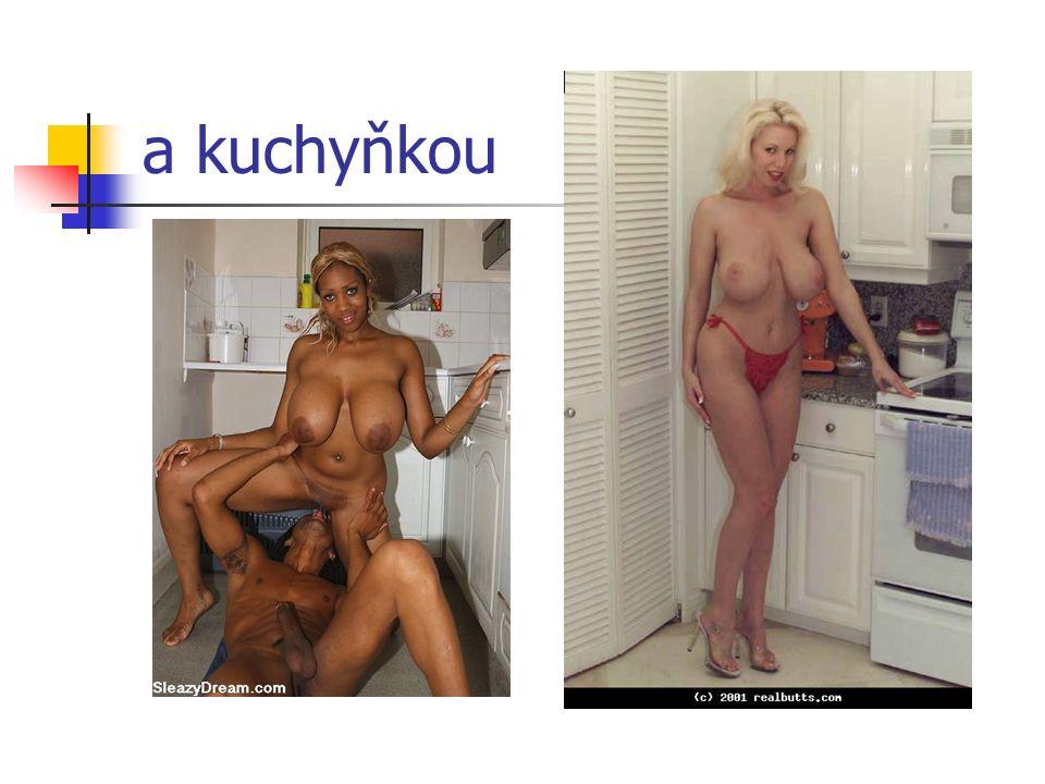 a kuchyňkou
