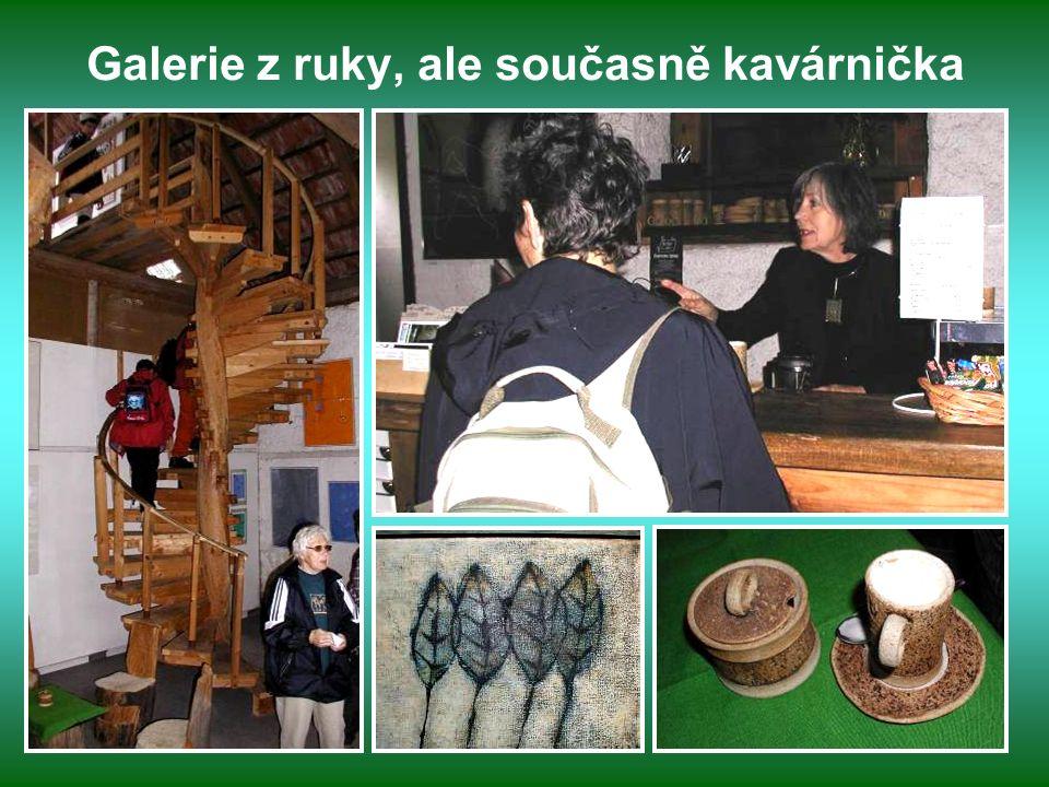 Plastiky výtvarníka Zdeňka Macháčka Ateliér vznikl počátkem 70tých let a pořádají se zde pravidelně výstavy