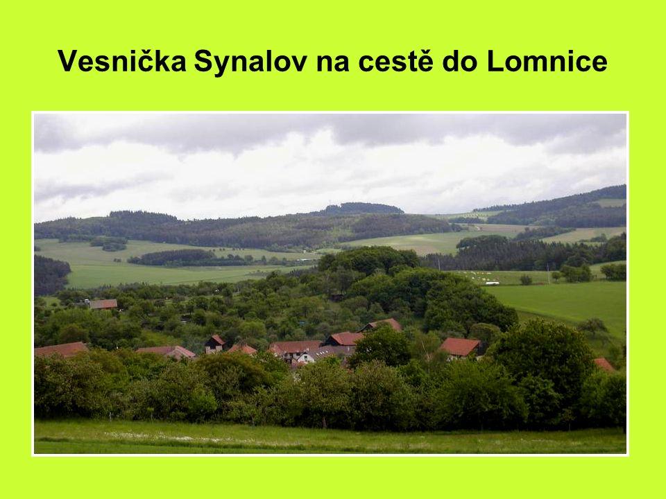 Cestou do Lomnice u Tišnova