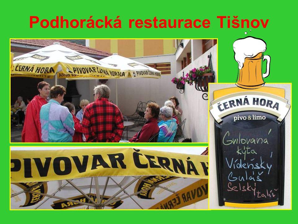 Podhorácká restaurace Vídeňský guláš a černé pivo 12°