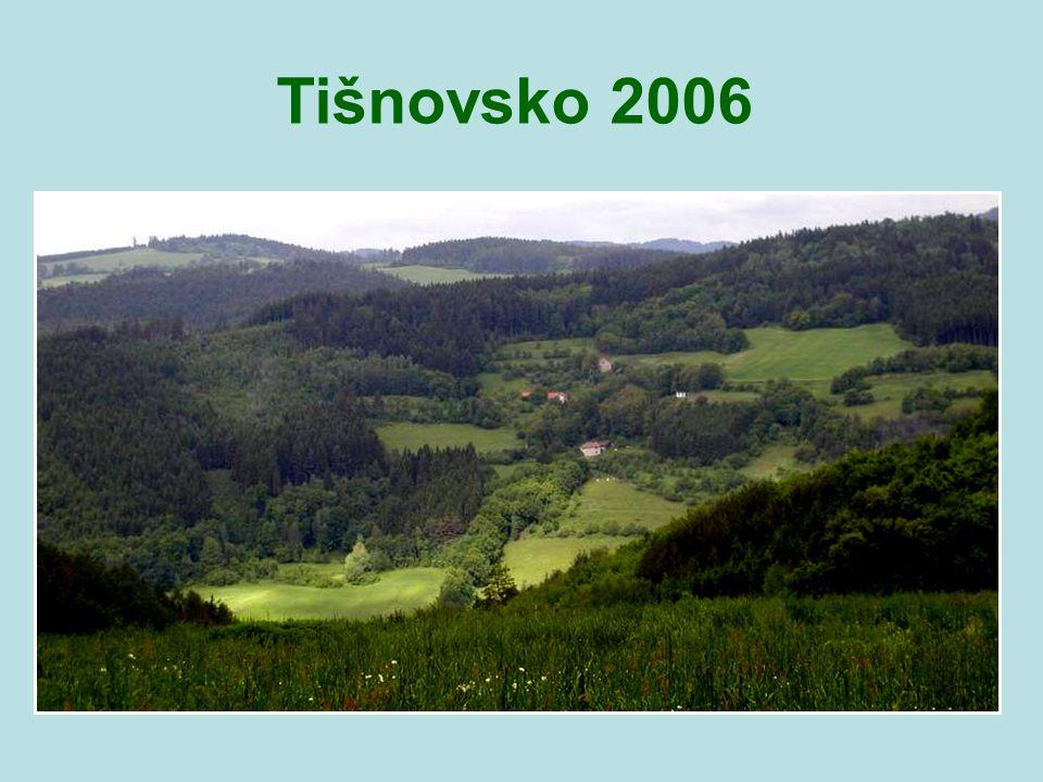 Skorotice, Křížovice, Křeptov, Sýkořská hájenka, Synalov a Lomnice u Tišnova Tišnovsko a okolí – 27. května 2006