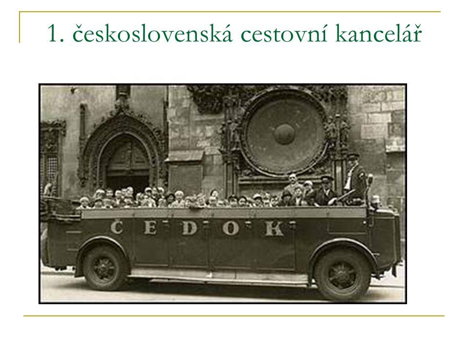 1. československá cestovní kancelář