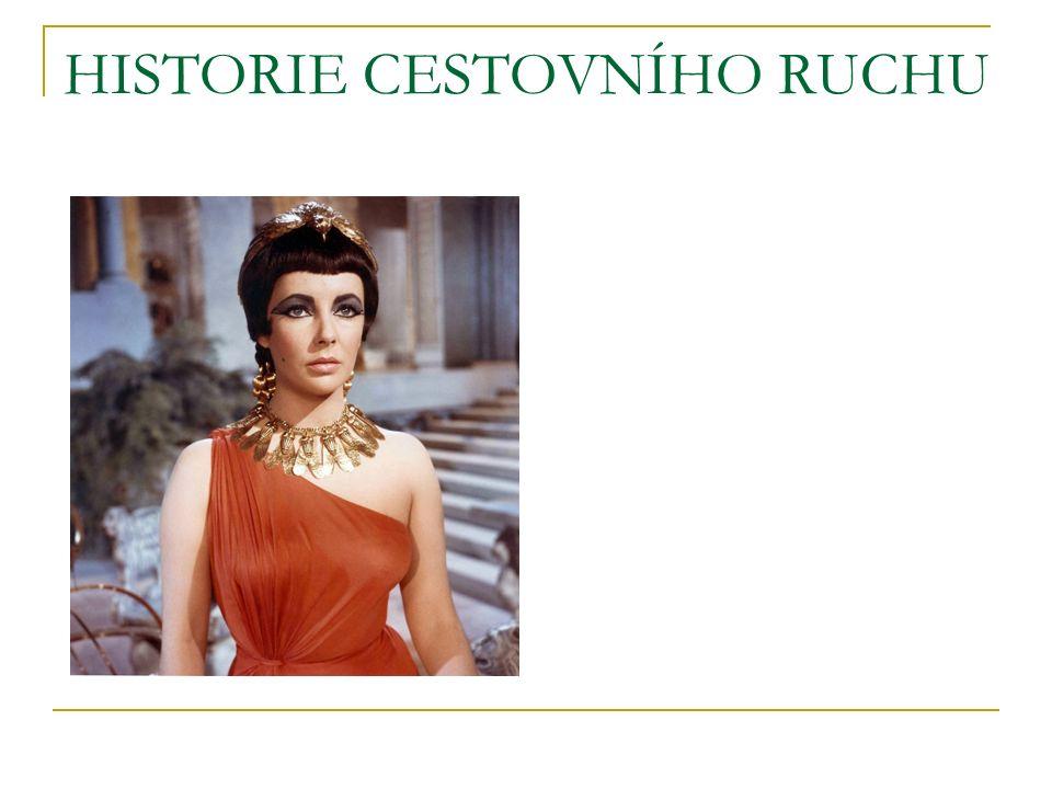 HISTORIE CESTOVNÍHO RUCHU