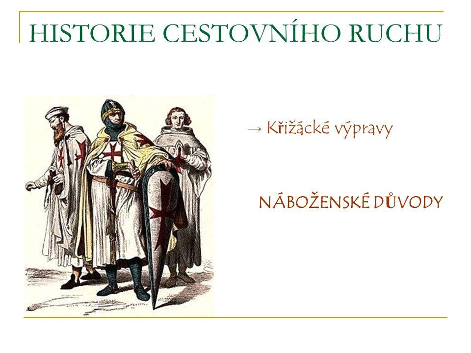 HISTORIE CESTOVNÍHO RUCHU THOMAS COOK - 1.