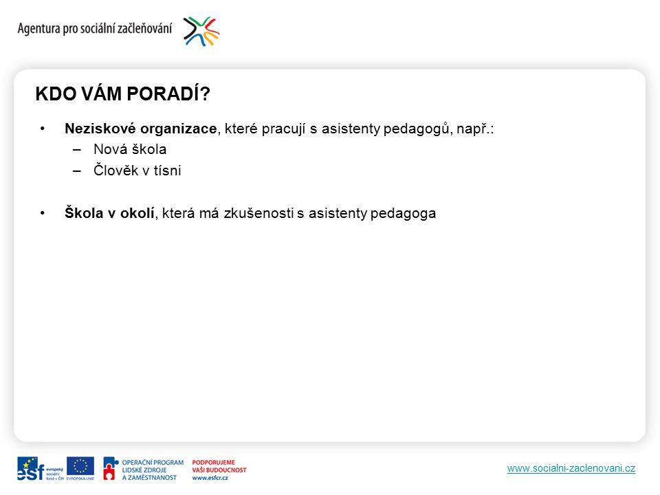 www.socialni-zaclenovani.cz Děkuji za pozornost. macku.lucie@vlada.cz
