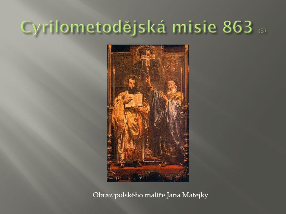 Obraz polského malíře Jana Matejky