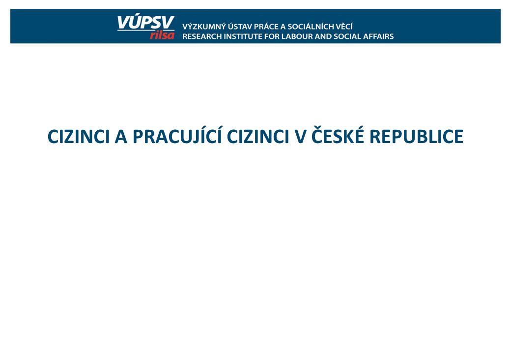 CIZINCI A PRACUJÍCÍ CIZINCI V ČESKÉ REPUBLICE