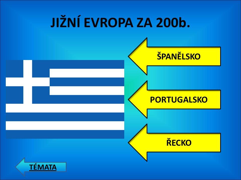 JIŽNÍ EVROPA ZA 100b. ITÁLIE ŠPANĚLSKO PORTUGALSKO TÉMATA